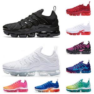 Nike Air Vapormax Plus tn plus vente de chaussures de course des femmes des hommes Maxes Vapeurs plus Coussins Royales Hornets rouge blanc noir jeu formateurs baskets