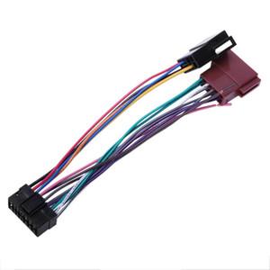 16pin Car Stereo Radyo Harness için Sony Radyo Çal Fiş Oto Adaptör Harness Connector Sksy16-21 + Iso