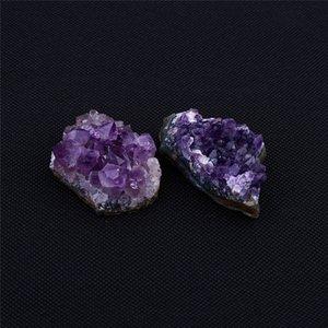Amethyst premières naturelles Quartz Cluster de guérison Pierres Spécimen Décoration Artisanat Piedras Naturales Y Minérales