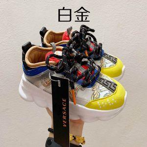 2020 de qualité supérieure pour enfants Chaussures enfants baroque Chaussures de sport de plein air garçon fille Entraîneur bébé Chaussures Casual Sports Taille enfant en bas âge 26-35