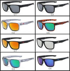 erkek ve kadınlar için ucuz Marka Güneş Shades Güneş Kadınlar Yansıtıcı Kaplama Kare Güneş Gözlükleri Man 8 renk güneş 009361 gözlükler