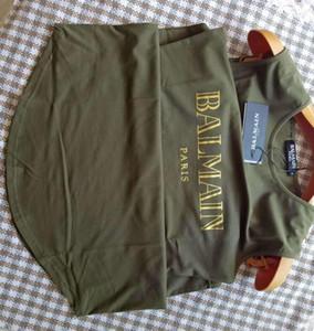 Balmain Damen Designer-T-Shirts hochwertige Frauen-Shirts Mode-Marken-Frauen Designer-Kleid Balmain-Frauen-Kleidung-Größe S-L
