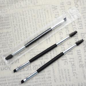 Maquillaje Ojo frente cepillo de ceja 12 # Pinceles de maquillaje de dúo sintético Double cepillo cepillo Cepillo Cepillos Kit Pinceis DHL Envío gratis