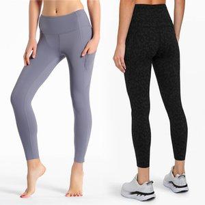 Pantalones de 7/8 de longitud de cintura alta Mujeres pantalones de yoga de secado rápido de gimnasia de los deportes Medias Ropa para mujeres aptitud del ejercicio Ejecución de las polainas de los pantalones de atletismo