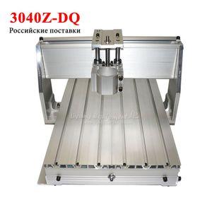 LY estante CNC 3040 z-dq balón marco enrutador tornillo para CNC diy 3AXIS piezas de la máquina grabado en madera de fresado