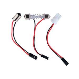 300 шт. T10 BA9S T4W гирлянда разъем провода кабели для всех автомобилей интерьер свет светодиодные панели купол света гнездо адаптера