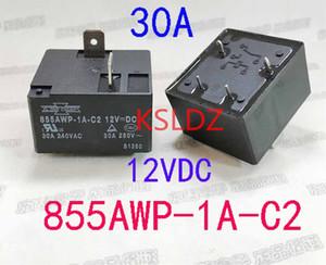 Freies Verschiffen Los (5pieces / lot) original New SONGCHUN 855AWP-1A-C2-12vdc 855AWP-1A-C2-DC12V 4pins 30A Leistungsrelais