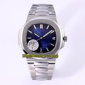 PF Classic V2 Versione 5711-1a 010 Dial Blue Cal.324 SC Movimento automatico 28800 Hertz Mens Glass Glass in acciaio 316L Cassa in acciaio orologi