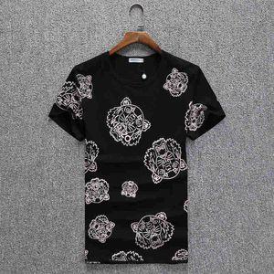 20 Geometric Printed Fashion T-Shirt Summer Breathable Tee