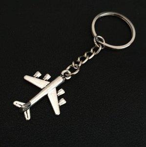 مجموعة مفاتيح لطائرة Pendant Cychain محفظة سلسلة مفاتيح سلسلة طائرات Ring Aircraft Keychain 837