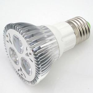 30 stücke AC110 200V Dimmable High Power 3 * 3W 9W E27 Schraube Par20 LED Glühbirne Warmweiß 2700-7000K für den Innenbereich