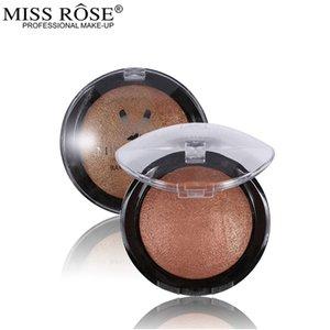 Miss Rose Blush del maquillaje del polvo de cara al horno Colorete Bronceador mejilla se ruboriza paleta de color Paleta De