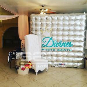 Heiß-Verkauf von Cube Booth Tent Splitter oder goldenen Inflatable Photo Booth für Hochzeitsfest Ereignisse Bühnen