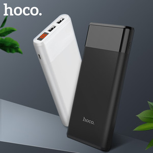HOCO Power bank 12000mAh Portable PowerBank Phone quick Charge USB Output External Batteries Pack LCD Display Mobile Charger