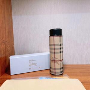 الأزياء Pattren الفولاذ المقاوم للصدأ الكؤوس فراغ قارورة الحرارية كأس القهوة الترمس القدح المياه زجاجة عرض درجة الحرارة كأس الحرارية أباريق
