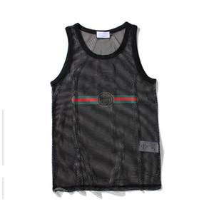 تانك الأعلى للرجال رياضة كمال الاجسام العلامة التجارية رياضة ملابس مصمم المرأة سترات المحملة الصيف القمم الفاخرة M-XXL
