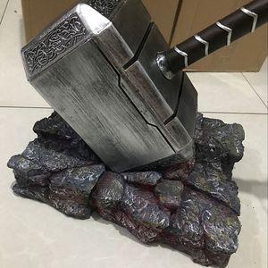 Presentes de Natal martelo Brinquedos Thanos Thor Cosplay do miúdo do martelo de 20 centímetros Marvel Os Vingadores Thor birthady Gift Collection Decoração T191022