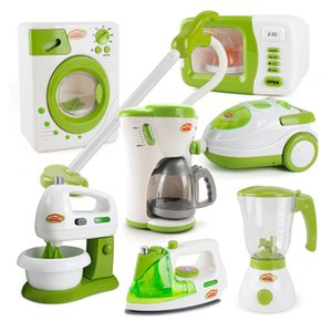 wholesale Kitchen Toys Baby Girls Children Play House Pretend Play Toys Simulation Household Appliances Plastic Kids Cooking Model