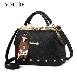Femminili Borse Crossbody di cuoio di lusso delle donne di alta qualità Designer Handbag Sac Un signore principale Borsa a tracolla ACELURE