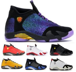 Doernbecher (14) 농구 신발 남성 스니커즈 골드 립 해밀턴 사탕 지팡이 마지막 샷 사막 모래 천둥 14S 저렴한 2020 새로운 도착 신발