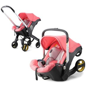 Infant Baby Car Seat Stroller 2 In 1 Newborn Baby Bassinet Cradle Type Safety Seat Carrycot Baby Carriage Basket Free Ship