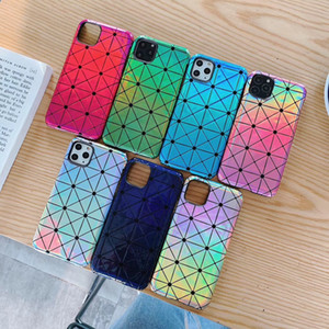 Designer Diamond Phone Case for Iphone 11pro 11 11promax Fashion Geometric Diamond Iphone XR XSMAX X XS 7p 8p Case Back Cover with 7 Styles
