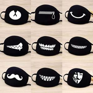 1PC face bonito dos desenhos animados Máscara Dentes engraçados Pattern Unisex Anti Poeira inverno quente Mouth máscara multi Estilo Hot Sale
