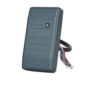 Ücretsiz Kargo Mini okuyucu 26 34 125khz TK4100 13.56MHz MF kart okuyucu Wiegand rfid