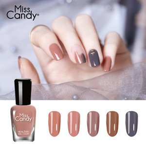 MISS CANDY 15ml health Peel Off Nail Polish Non-toxic Pregnant Safe Nail Art Lacquer Poetic color
