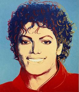 Andy Warhol Michael Jackson 1984 Decoración Artesanías / impresión de HD pintura al óleo sobre lienzo de arte cuadro de la pared 200630