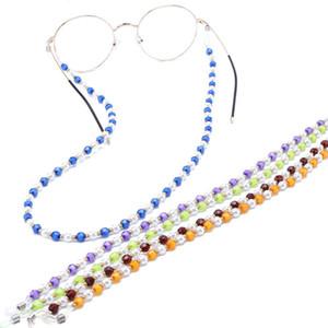 Vendita calda Nuovo Nuoto Sport Perle Perle Occhiali da sole Cinghia Occhiali Occhiali Cord Catene String Holder Moda Accessorie