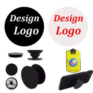 Freies freies kundenspezifisches Logo-Mobiltelefonhalter Universalsockel-Handy Smartphone-Tabletstandplatz mit einzelnem Kleinpaket