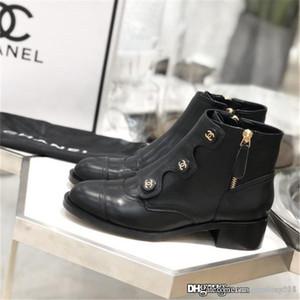 Marke Fashion Luxury Designer Damen-Schuhe Damen Stiefel Superstar Stiefeletten Hochwertige Lederstiefel Herbst und Winter Stil mit Kasten