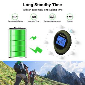 G9 Şarj edilebilir Mini GPS Navigasyon Locator GPS alıcısı Su geçirmez El GPS Elektronik Pusula İçin Açık Seyahat Anti-Kayıp