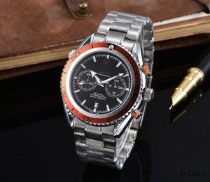 2020 Quality Sea horse 44mm Mens Watches Top Luxury Men's Business Quartz Watch 007 Orologi di shock Resistant watch Gentleman Gift