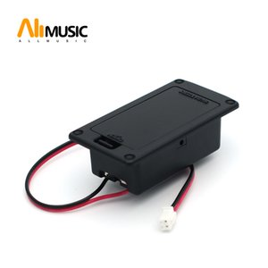 10PCS Active Bass Guitar Pickup 9V 6F22 Battery Boxs Holder Case Compartment Cover With Metal Contacts Spring
