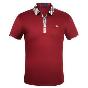 Maserati Crown Polo Shirts Golf dünne bequeme Designer Formal Polo Shirts mit Baumwollmischung für Männer