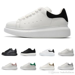Italy Designer Men Women Shoes Fashion Luxury Leather Lace Up Platform Oversized Sole Sneakers Reflective 3M white Casual Shoes trainers