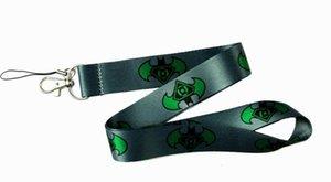 wholesale lot Cartoon Batman Phone key chain Neck Strap Keys Camera ID Card Lanyard Free Shipping PO135