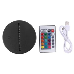 Factory direct sales Cross-border e-commerce hot sale 3D night light touch sensor + remote control eye protection foreign trade original inv