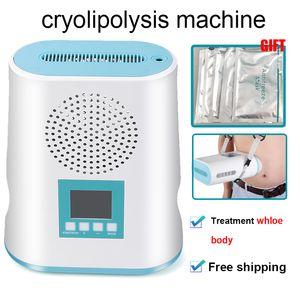 Profesional polular grasa Cryolipolysis máquina de congelación de las partes del cuerpo grasa reducir crio grasa lipólisis Cryolipolysis máquina de congelación