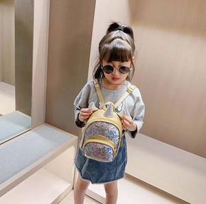 2PCS Children's school bags Kids Backpack unicorns color-changing sequins Personality backpacks Children's love gifts 6 colors