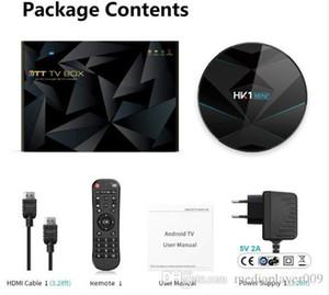 HK1 mini Plus Android 9.0 TV Box 4GB 64GB RK3318 4 Core 2.4G 5G Wifi 4K HD Set Top Box 4G 32G 100M