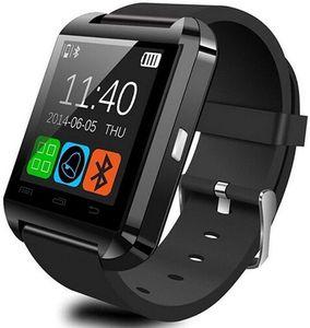 U8 intelligente montre UWatch Bluetooth Smart Watch d'ajustement pour Samsung Galaxy S4 S5 S6 S7 bord Note 3 4 5 HTC Nexus Sony LG Huawei Android Smartphones