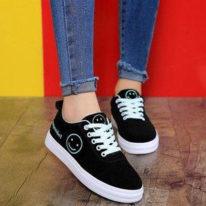 New Women Casual Sneaker Branco Preto Verde Dividir multi Moda Womens Outdoor Cloth Shoes Tamanho 36-39 ssq2