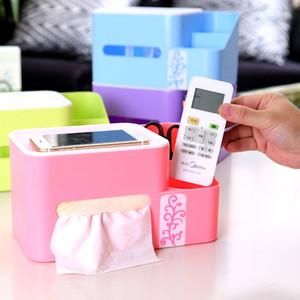 Plastica calda casa Camera Car Hotel del tessuto della cassa del supporto Box Cover Paper Napkin