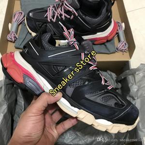 Avec Box 2020 New 3m Triple S Track 3 .0 Running Shoes Release 3 TESS à Paris, haut de jogging Designer Shoe Maillé