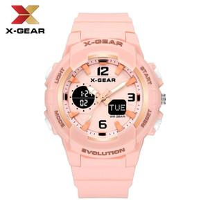 X-GEAR Uhren Digital-Sport-Frauen-Mode-Armbanduhr für Mädchen Digital-Uhr-beste Geschenke für Mädchen 952 Sport-Uhr Wasserdicht