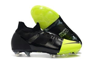 2019 erkek yüksek ayak bileği futbol ayakkabıları Mercurial Greenspeed 360 FG futbol krampon deri Mercurial Superfly 360 GS futbol ayakkabıları Tacos de futbo