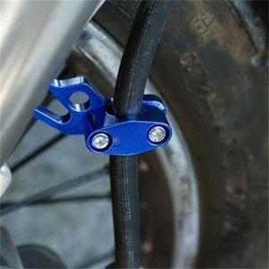 En alliage d'aluminium à huile pour motocyclette Tube fixe Tube Clamp Cadre de vélo Boucle VTT Frein à Câble Adaptateur Guide de Sets Tube